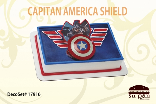 CAPITAN AMERICA SHIELD