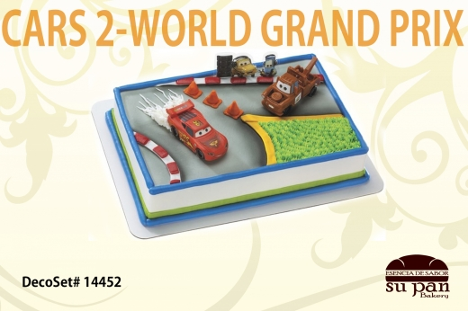 CARS 2-WORLD GRAND PRIX