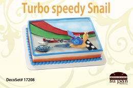 Turbo speedy Snail