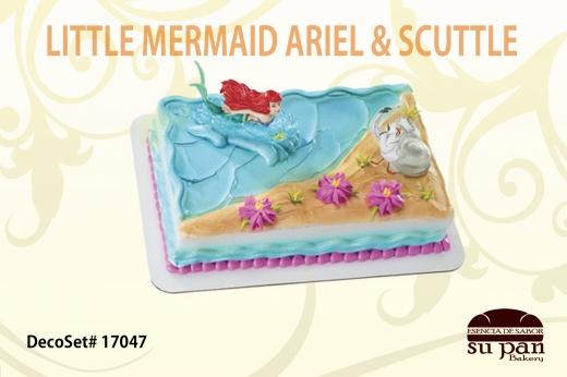 LITTLE MERMAID ARIEL _ SCUTTLE
