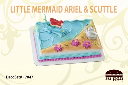 LITTLE MERMAID ARIEL _ SCUTTLE