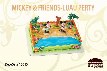 MICKEY _ FRIENDS-LUAU PERTY