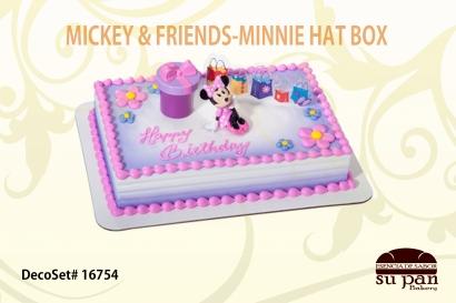 MICKEY _ FRIENDS-MINNIE HAT BOX