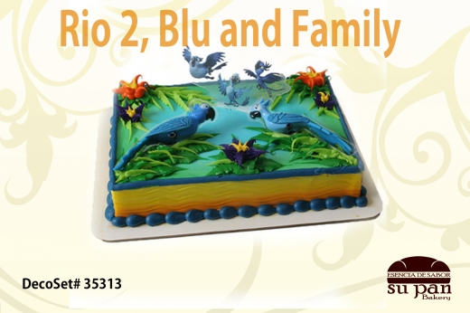 Rio 2, Blu and Family