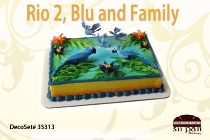 Rio 2, Blu and Family